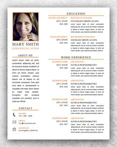 Acting Resume Sample Acting Resume Sample No Experience  Httpwwwresumecareer