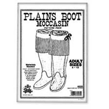 Adults Plain Boot Moccasin Pattern Pack 6035-00 by Tandy Leather