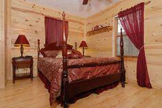 Behind Closed Doors- Bedroom #cabinrental #pigeonforge #smokymountain #mountain #vacation #getaway #cabin #getaway #tennessee #TN