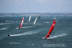 Volvo Ocean Race, Kite Board, Dinghy, Auckland, Kayaking, New Zealand, Sailing, Sail Boats, Legs