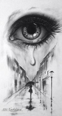Picture from – Abstract Depri – Trendy Outfits – diy tattoo images Bild von Abstrakt Depri … Sad Drawings, Dark Art Drawings, Art Drawings Sketches Simple, Pencil Art Drawings, Realistic Drawings, Tattoo Sketches, Eye Pencil Drawing, Pencil Sketch Images, Drawing Eyes