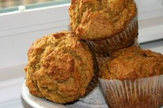 Pumpkin muffins: I also added chopped Granny Smith apples, used organic flour and apple cider vinegar - will know in 20 min how they turn out.