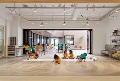 Hanazono Kindergarten e scuola materna a Okinawa da Hibino Sekkei e Youji no Shiro