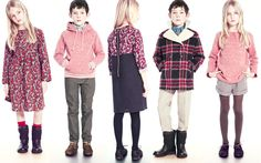 Talc's new season celebrates comfort and elegance. Boys will be  delighted by soft sweatshirts, new jackets, and relaxed pants. Girls  will love wearing charming dresses and skirts, either sparkling or  printed with a fall floral. Parents of tiny ones will appreciate  Talc's stylish and effortless ensembles for easy baby dressing.
