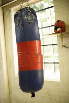 How to Make a Homemade Punching Bag. This would be a good stress reliever. Looks easy to make.