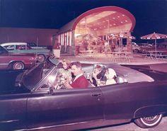 The original Arby's location on route 224 in Boardman, Ohio. ca. 1964