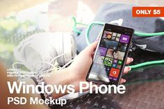 Windows Phone Lumia 830 Mockup by Jan Vašek on Creative Market Web Mockup, Mockup Templates, Business Brochure, Business Card Logo, Mobile Mockup, Windows Phone, Paint Markers, Free Design, Creative