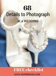 Photography Tips | Wedding Photography tips, Wedding photography, Details to Photograph at a Wedding