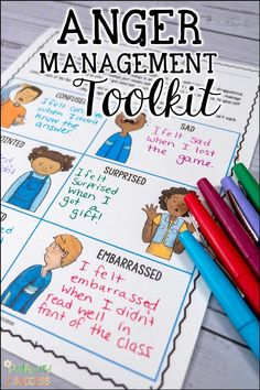 Help kids and teens manage their feelings of anger with a printable and digital workbook. Use these lessons and activities to help students understand their feelings and cope with them in socially appropriate ways. The perfect anger management toolkit for learners! Anger Management For Kids, Dealing With Anger, Help Kids, Self Awareness, Graphic Organizers, Writing Activities, Digital Prints, Students, Mindfulness