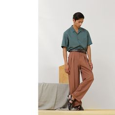 Love the soft colors - Christophe Lemaire - The Spring 2014 Menswear Trend Report