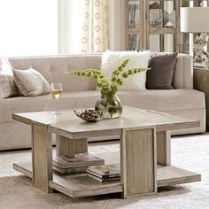 Riverside Furniture Square Coffee Table in Natural Misery stage: Heavy Backside mounted shelf Geared up with detachable casters for handy mobility. By no means roll casters on unprotected Riverside Furniture, Floor Shelf, Sweet Home, Shabby, Mounted Shelves, Coffee Table Wayfair, Cool Coffee Tables, Vinyl Flooring, Home Furnishings