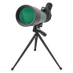 Aomekie Zoom Spotting Scope Astronomy Telescope with Metal Tripod and Carrying Bag - HD Porro Prism - Angled Eyepiece - for Outdoor Sporting - Waterproof and Fogproof Flash Photography, Underwater Photography, Night Vision Monocular, Bird Watching, Tripod, Telescope, Astronomy, Digital Camera, Cool Things To Buy
