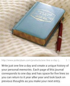 Journal ~ DIY idea