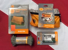 Shelter Starter kit Disaster bug out bag gear emergency preparadness  hurricane #UST  Things that will help you with your shelter. These could really come in handy.