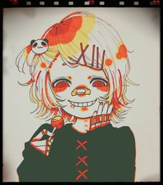 Otaku, Juuzou Suzuya, Gothic Dolls, Zulu, Tokyo Ghoul, Vocaloid, Anime, Fan Art, Wallpaper