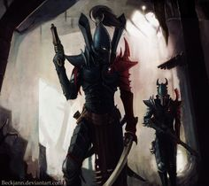 Dark eldar by ~Beckjann on deviantart.com