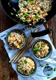 If you like a good fried rice and you love anchovies, then this Chicken and Salted fish fried rice was made for you! The salted fish adds a more delicate yet delightfully anchovy-shrimp taste that is unique and delicious