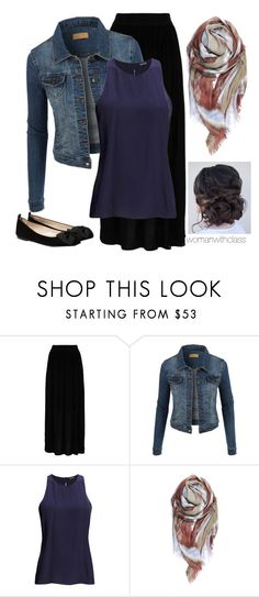 """""""{ Sunday Night }"""" by womanwithclass ❤ liked on Polyvore featuring mode, Hallhuber, LE3NO, 2nd Day et MANGO"""