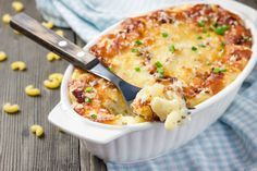 Ofen-Makkaroni: Einfaches Rezept mit Käse-Sahne-Sauce