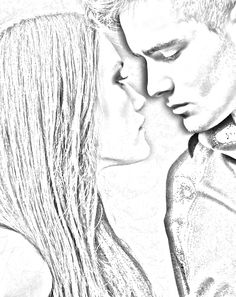 Bethany and Styxx from Sherrilyn Kenyon's upcoming book. Sherrilyn Kenyon Books, Chronicles Of Nick, Dark Hunter, Book Tv, Beautiful Drawings, The Darkest, Fangirl, Hunters, Sketches