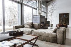 "georgianadesign: "" Vibieffe sofa, Italy. usona furniture and accessories, Philadelphia, PA. """