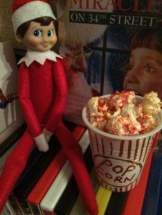 2014 - Day 2: Loki wants to watch s festive film #OurElfOnTheShelf #ElfOnTheShelf #ElfOnTheShelfIdeas