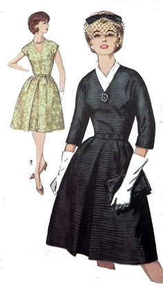 Simplicity 5238 Vintage Sewing pattern Dress This would be cool to make with multiple detachable collars for different looks.