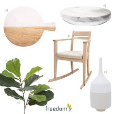 Marble, blonde wood, soft pastel and greenery. We love @blondeandbone top 5 picks for Mother's Day this weekend. Have a look on our blog #stylebyfreedom for more gift ideas by @missaimeefleur and @thebubbalinokitchen #mothersday #giftguide #freedomnzAW15 see comment below for product details and prices