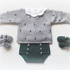 Com Maria Carapim In - Diy Crafts - maallure Baby Knitting Patterns, Knitting For Kids, Baby Patterns, Knitting Wool, Knitting Ideas, Layette Pattern, Pull Bebe, Diy Bebe, Baby Pullover