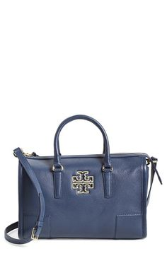Tory Burch 'Britten' Leather Satchel-available at Nordstrom