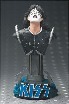 Ace Frehley - Kiss Collectible Statuette Mcfarlane Toys by Mcfarlane Toys. $23.00. Collectible Statuette. 7 inchs tall. The Ace Frehley collectible statuette is 7 inches tall on a KISS Space Ace base.  Colors may vary.