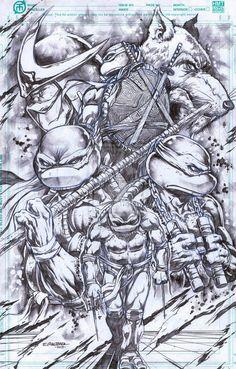 TMNT- Definitely my new favorite TMNT Artwork!