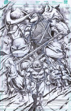 TMNT by ~emilcabaltierra on deviantART