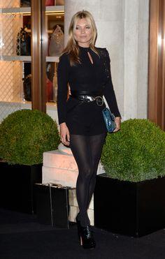 Kate Moss à la soirée Longchamp en septembre 2013 à Londres