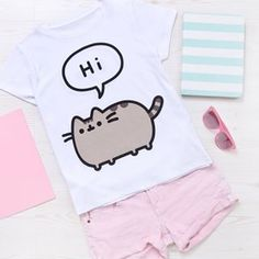 This Pusheen tee is now available in-stores at @primark!