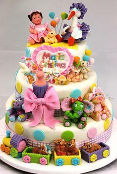 viorica's Cakes: Cake Christening Maria Cristina