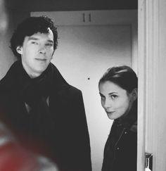 Sherlock and Molly.