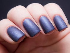Hot nail trends OPI Matte top coat over any color