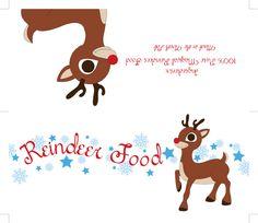 reindeer food tag