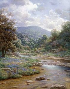 Secluded Spring by Larry Dyke : Lot 281E