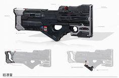 Sci-fi concept weapon/rifle - final gun sense.jpg: