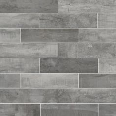 texturadas cocina Florida Tile Home Collection Wind River Grey 6 in. x 24 in. Porcelain Floor and Wall Tile sq. / - The Home Depot texturadas cocina Grey Wood Tile, Grey Tiles, Bathroom Floor Tiles, Wall Tiles, Brass Bathroom, Hall Bathroom, Backsplash Tile, Shower Floor, Backsplash Ideas