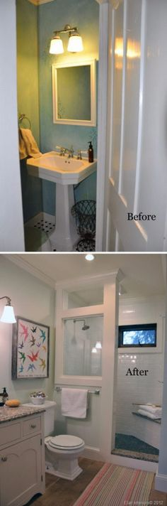 Before and After 31 Amazing Bathroom Makeovers u2013 Page 24
