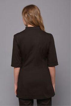 Chocolate Moon Tunic Spa Outfit, Women Wear, High Neck Dress, Tunic, Moon, Shirt Dress, Chocolate, Lady, Shirts