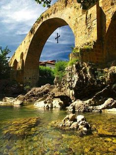 Cangas de Onis is one of the most famous towns of Eastern Asturias (Spain)… Places To Travel, Places To See, Travel Destinations, Wonderful Places, Beautiful Places, Asturias Spain, Places In Spain, Voyage Europe, Spain And Portugal