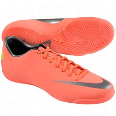 NIKE Mens Mercurial Victory III Indoor Soccer Shoes...Just Got me some of these beauties :)!! indoor here i come!