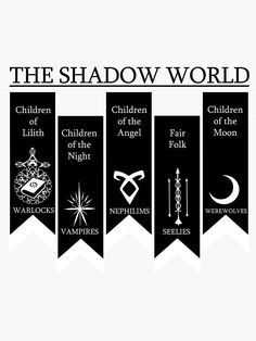 """The shadow World - Shadowhunters"" Sticker by DalyRincon Mortal Instruments Zitate, Mortal Instruments Quotes, Immortal Instruments, Shadowhunters The Mortal Instruments, Shadow Hunters Book, Clary Y Jace, Instruções Origami, Minecraft Banner Designs, Shadowhunters Series"