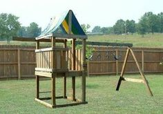 build a swing set and play house   BUILD A PLAYSET FORT PLAYHOUSE SWINGSET WOOD PLANS, Special Design