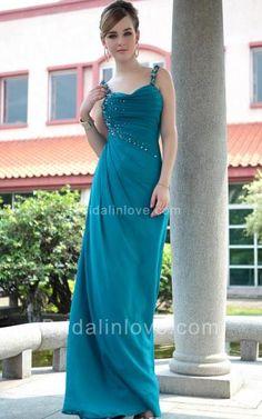 Sheath Sweetheart Floor Length Stretch Velvet Prom Dress