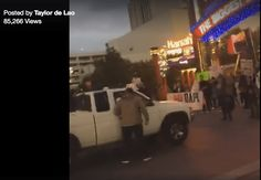 Campaign Action   An apparently racist truck driver, likely enabled by that White-Supremacist-Partyjackass running for President,plowed through a group of peaceful protesters in Reno, Nevada on October 10 injuring five with an elderly woman still in...